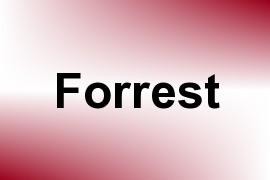Forrest name image