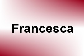 Francesca name image