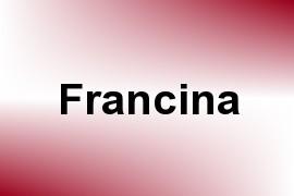 Francina name image