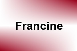 Francine name image