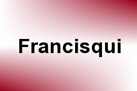 Francisqui name image