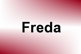Freda name image