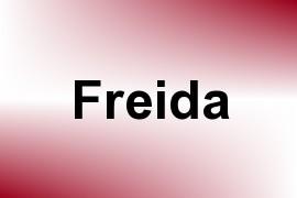 Freida name image