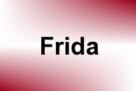 Frida name image