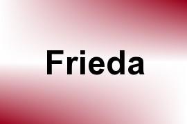 Frieda name image