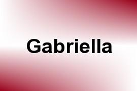 Gabriella name image