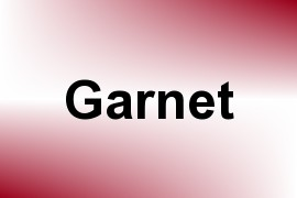Garnet name image