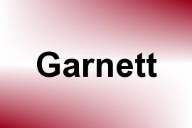 Garnett name image
