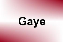 Gaye name image