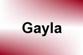 Gayla name image