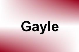 Gayle name image
