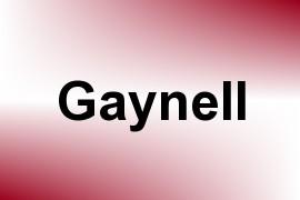 Gaynell name image