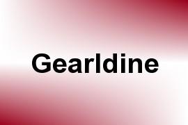 Gearldine name image