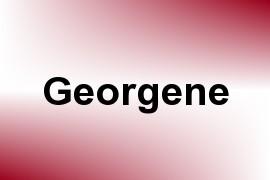 Georgene name image