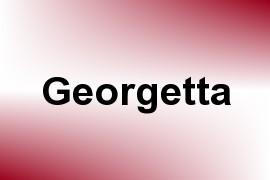 Georgetta name image