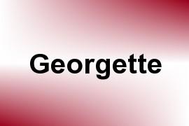 Georgette name image