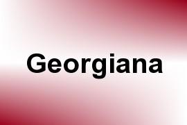 Georgiana name image