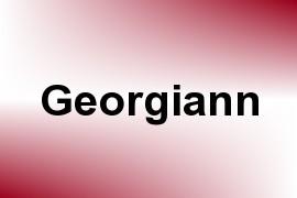 Georgiann name image