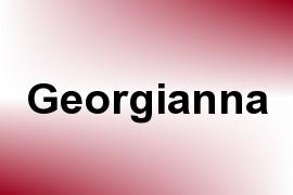 Georgianna name image