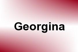 Georgina name image