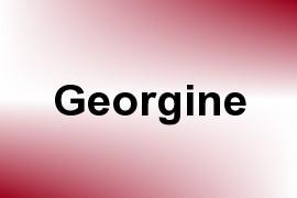 Georgine name image