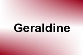 Geraldine name image