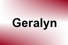 Geralyn name image