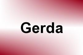 Gerda name image