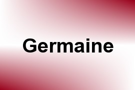 Germaine name image