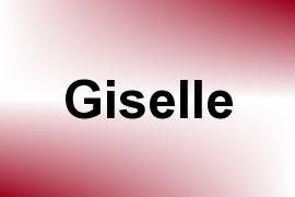 Giselle name image