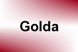 Golda name image