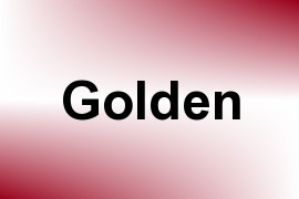 Golden name image