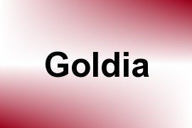 Goldia name image