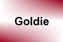 Goldie name image