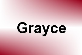 Grayce name image