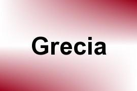 Grecia name image