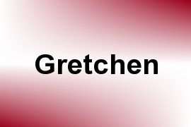 Gretchen name image