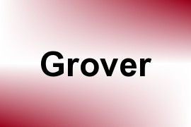 Grover name image