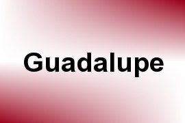 Guadalupe name image