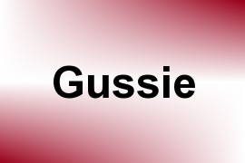 Gussie name image