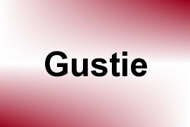 Gustie name image