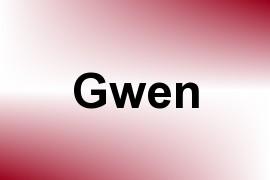 Gwen name image