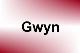 Gwyn name image