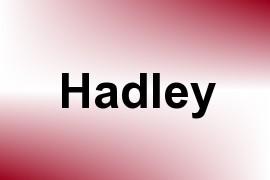 Hadley name image