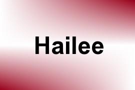 Hailee name image