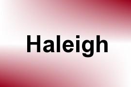 Haleigh name image