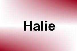 Halie name image