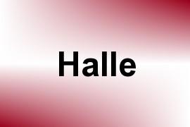 Halle name image