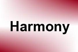 Harmony name image