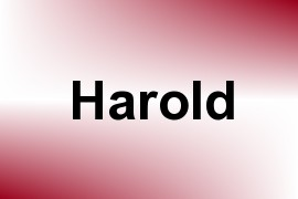 Harold name image